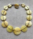 Ожерелья из натурального янтаря. 44 гр., фото №2