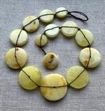 Ожерелья из натурального янтаря. 44 гр., фото №6