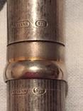 Ручка серебрянная, фото №12