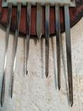 Шампура в настенном панно с чеканкой-головой барана, фото №7