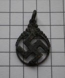 Немецкий кулон со свастикой, фото №2