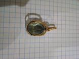 Золотой кулон с аметистом 585, фото №4