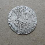 Гданьский грош 1623 года. SB под гербом. Сиг. ІІІ Ваза., фото №5