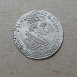 Гданьский грош 1623 года. SB под гербом. Сиг. ІІІ Ваза., фото №6