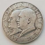 Германия. Третий Рейх. Гитлер-Муссолини. Встреча на государственном уровне (копия), фото №2