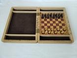 Шахматы деревянные дорожные, фото №3