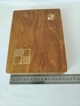 Шахматы деревянные дорожные, фото №5