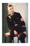 Ваффен СС сидит на столике., фото №2