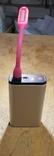 USB Лампа розовая (для powerbank, notebook), фото №5