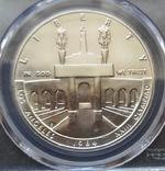 """США 1 доллар 1984 P """"XXIII летние Олимпийские Игры в Лос-Анджелесе"""" в слабе PCGS """"MS-69 """", фото №4"""