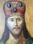 Икона Спас на троне Академическая, фото №10