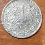 Германия, пол-марки,1915 год, фото №2