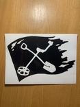 Наклейка на автомобиль №6B, фото №3