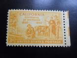 Фауна. США. 1950 г. Калифорния. Быки, корабль.  MNH, фото №2
