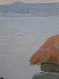 *На реке *Х/м, 35*67. Народный.худ.Украины Попов Н.Т.,1991г, фото №6