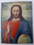 Ікона Ісус Христос Вседержитель 18×23,5 см, фото №2