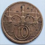 10 геллеров 1930 г. Чехословакия, фото №3
