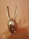 Заяц латунь Европа, фото №4