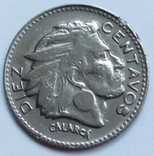 10 сентаво 1959 г. Колумбия, фото №2