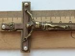 Нательный крест украшен жемчугом, фото №7