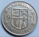 1 рупия 1971 г. Маврикий, фото №2