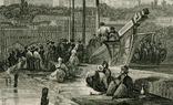 Старинная гравюра. Константинополь. Собор Святой Софии. 26х18см, фото №6