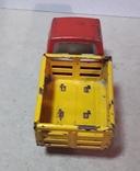 Винтажная железная машинка длина 9 см. Грузовичок СССР 60-70-е годы, фото №9