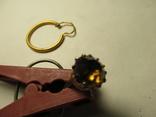 Серёжка, запонка, фото №11