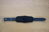 Под часы большого калибра кожанный ремешок 18 мм, фото №3