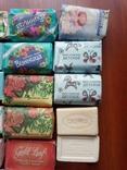 Мыло разное новое 17 кусочков, фото №5