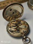Лот карманных часов,серебро,метал, фото №6