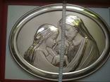 Панно. Серебро 925 пр. Религия, фото №3