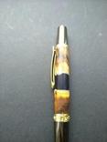 Ручка шариковая ручной работы Акриловый Клён, фото №4