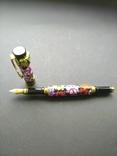 Ручка перьевая ручной работы Цветочная, фото №2
