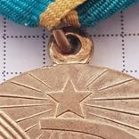 """Медаль """"За преобразование нечерноземья"""" копия, фото №3"""
