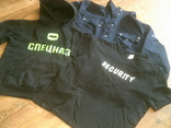 Комплект securitas (куртка,кофта,футболка) разм.L, фото №5
