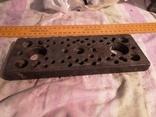 Металичсекая запчасть деталь инструмент для ремонта часов часовщика, фото №5