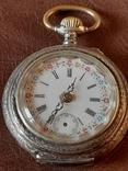 Часы карманные серебро на ходу, фото №2