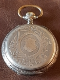 Часы карманные серебро на ходу, фото №3