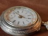 Часы карманные серебро на ходу, фото №6