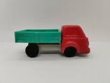 Машинка грузовик СССР ОТК металл пластмасса 13 см. грузовая машина, фото №3