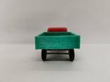 Машинка грузовик СССР ОТК металл пластмасса 13 см. грузовая машина, фото №4