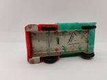 Машинка грузовик СССР ОТК металл пластмасса 13 см. грузовая машина, фото №5
