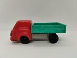 Машинка грузовик СССР ОТК металл пластмасса 13 см. грузовая машина, фото №8