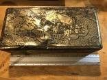 Большая жестяная коробка Риз Хамельн. Германия, Бюкебург., фото №2
