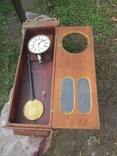 Часы настенные большие LENZKIRCH 1875 г., фото №6