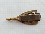 Элемент масонского ремня с подвесом ременной зацеп, фото №5