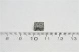 Заготовка-вставка з метеорита Seymchan, 1,44 г, із сертифікатом автентичності, фото №4