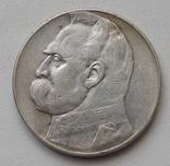 10 злот пилсудский 1936, фото №2