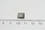 Заготовка-вставка з метеорита Seymchan, 2,36 г, із сертифікатом автентичності, фото №4